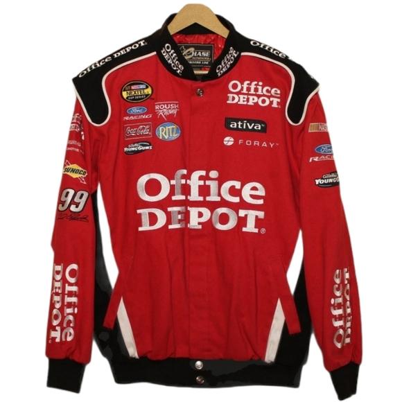 Office Depot Nascar Racing Carl Edwards Jacket NEW